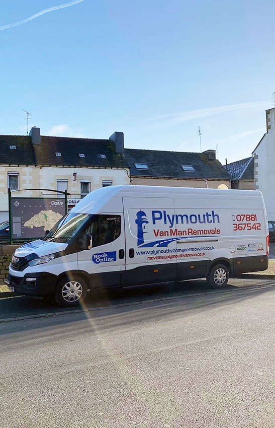 Man & Van Removals Plymouth